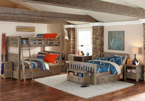Highlands Harper Full Over Full Bunk Bed By Ne Kids