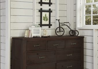 Highlands 7 Drawer Dresser Espresso