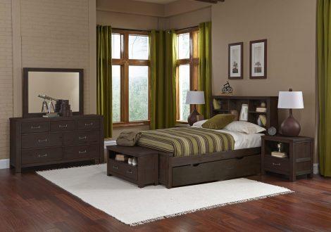 Highlands Bookcase Full Bed