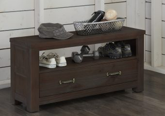 Highlands Dressing Bench Espresso 1