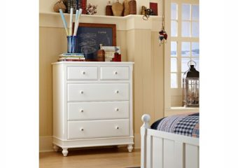 Lake House 5 Drawer Chest