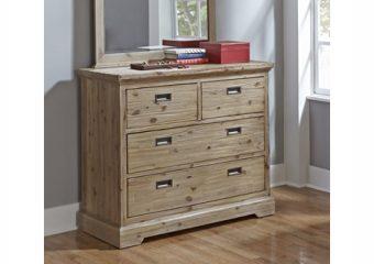 Oxford 4 Drawer Dresser Cocoa