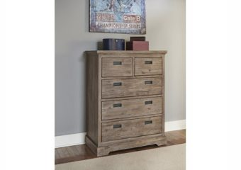 Oxford 5 Drawer Chest Cocoa