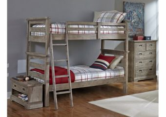 Oxford Oliver Bunkbed Twin over Twin Cocoa