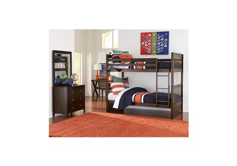 Pulse Twin Over Twin Bunk Bed