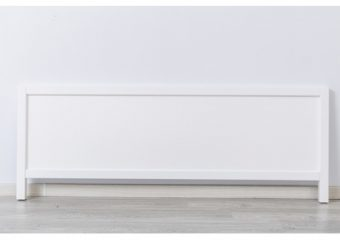Silva Low Profile Footboard in White