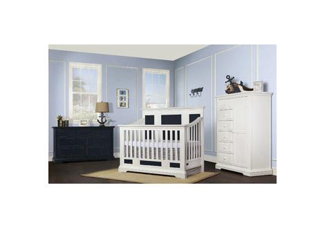 Parker crib by evolur for Furniture 63385