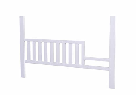 Edison Toddler Rail in White