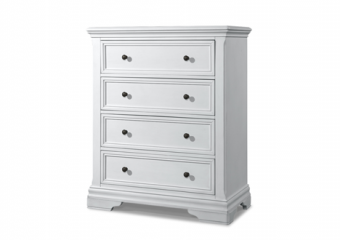 Athena 4 Drawer Chest in Belgium Cream
