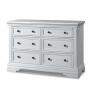 Athena 6 Drawer Dresser in Belgium Cream