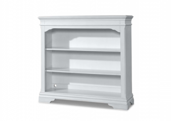 Athena Bookcase-Hutch in Belgium Cream
