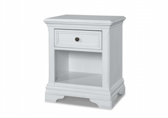 Athena Night Stand in Belgium Cream