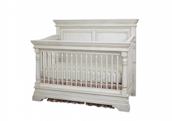 Kerrigan Crib in Rustic White
