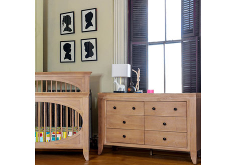 Cameo 6 Drawer Double Dresser