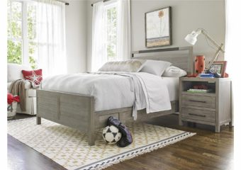 Scrimmage panel bed set full 46
