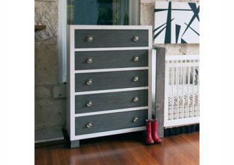 True 5 Drawer Dresser Mud w Snow