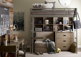 hudson metal loft bed 1
