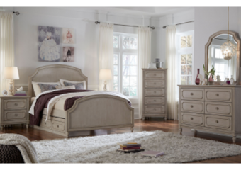 emma arched full panel bed