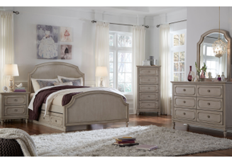 Emma Complete Arched Panel Full Bed