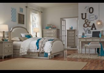 emma upholstered panel bed full