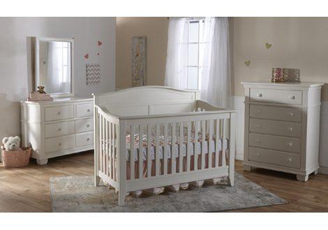 Napoli Forever Crib & Torino Double Dresser Bundle