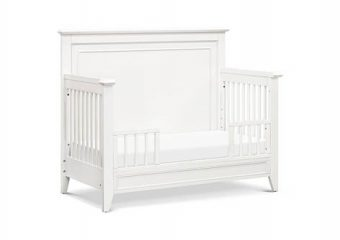 new Beckett Convertible Crib Warm White 6