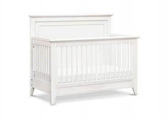 new Beckett Convertible Crib Warm White 8