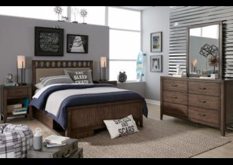 sawyers mill twin slat bed
