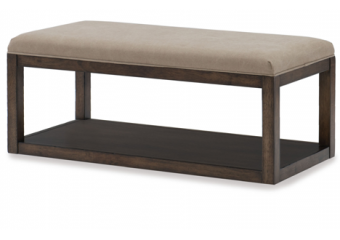 sawyers mill upholstered bench 1