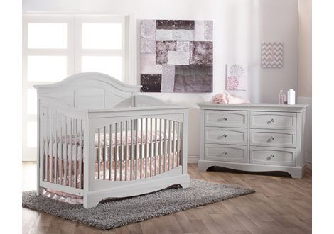 Enna Forever Crib & Double Dresser Bundle