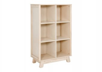 Hudson Bookcase in Washed Natural