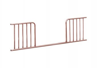Jubilee Toddler Guard Rail Pink Chrome