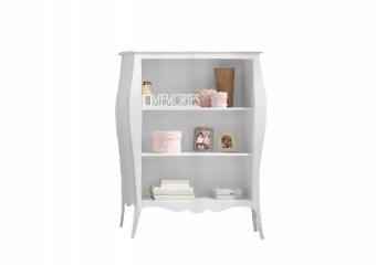 Allegra Bookcase White