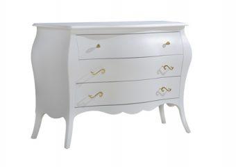 Allegra-Gold Dresser White