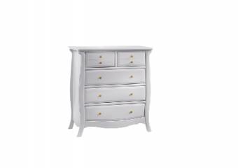 Bella Gold 5 Drawer Dresser