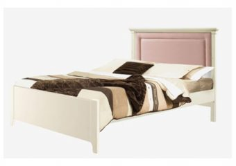Belmont Bed with Blush Panel