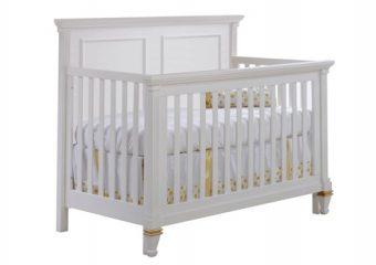 Belmont Gold Convertible Crib
