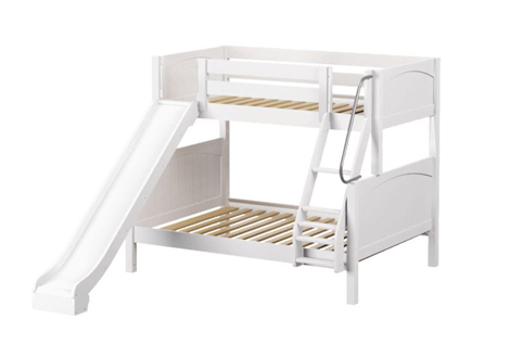 Maxtrix Medium Twin over Full Bunk with Angle Ladder and Slide