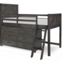 bunkhouse mid loft bed twin 6