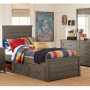 bunkhouse panel bed twin