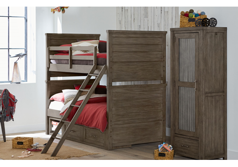 Bunkhouse Complete Twin Over Twin Bunk Bed