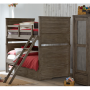 bunkhouse twin over twin bunk bed