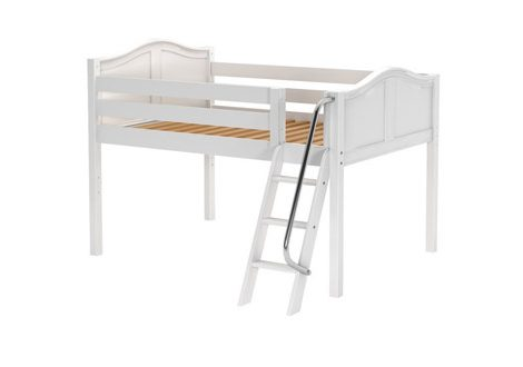 Maxtrix Low Loft Twin Bed With Angle Ladder