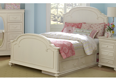 Charlotte Full Arched Panel Bed
