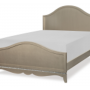 glitz and glam complete arched full panel bed 3