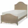 glitz and glam complete arched twin panel bed 3
