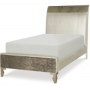 glitz and glam complete upholstered twin mermaid bed 2