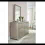 glitz and glam rectangular mirror
