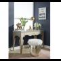 glitz and glam vanity stool