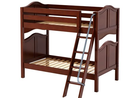 Maxtrix Medium Full Bunk Bed With Angle Ladder